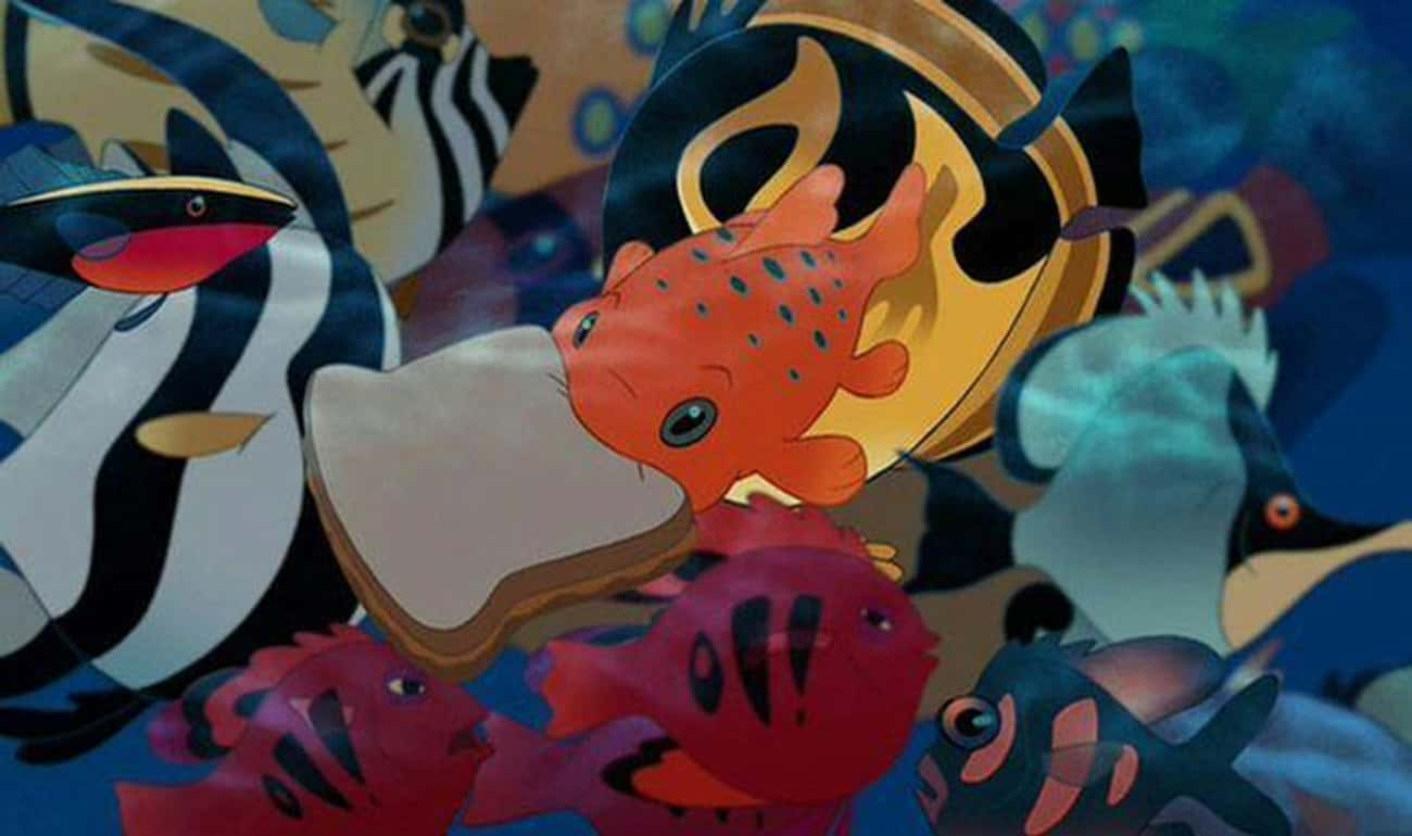 Lilo Feeds Pudge To Prevent Accidents Like The One That Took Her Parents
