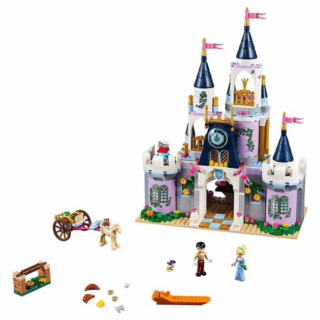 Cinderella's Dream Castle is listed (or ranked) 2 on the list The Best Disney LEGO Sets