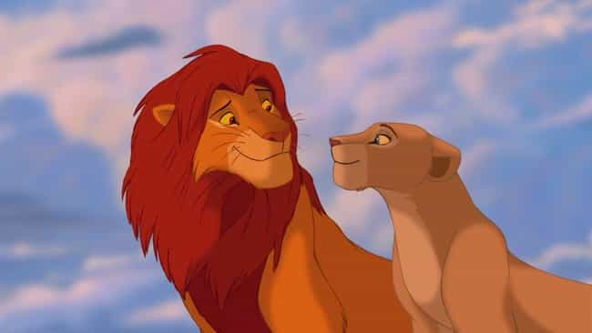 Simba And Nala Are Probably Re... is listed (or ranked) 2 on the list 'The Lion King' Fan Theories That Just Might Be True