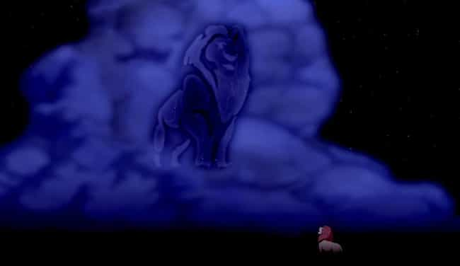 Simba Hallucinates His C... is listed (or ranked) 4 on the list 'The Lion King' Fan Theories That Just Might Be True