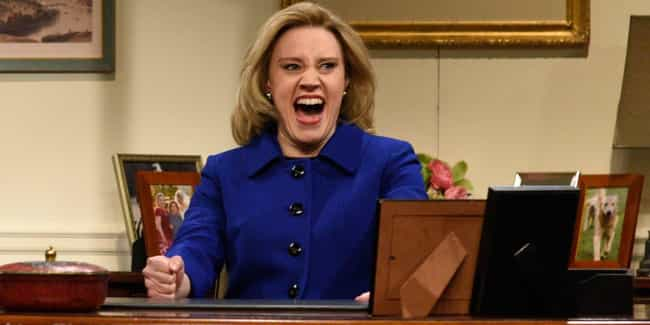 She Is The First Openly Gay Fe... is listed (or ranked) 1 on the list All The Evidence Kate McKinnon Is An All-Time Great 'SNL' Cast Member