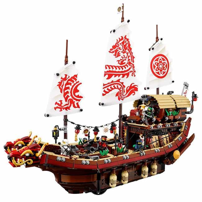 Destiny's Bounty is listed (or ranked) 3 on the list The Best Ninjago LEGO Sets