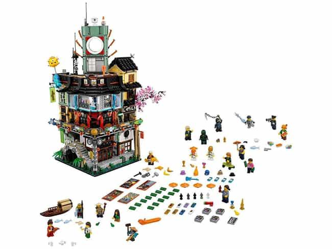 Ninjago City is listed (or ranked) 4 on the list The Best Ninjago LEGO Sets