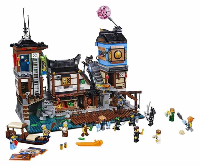 City Docks is listed (or ranked) 3 on the list The Best Ninjago LEGO Sets