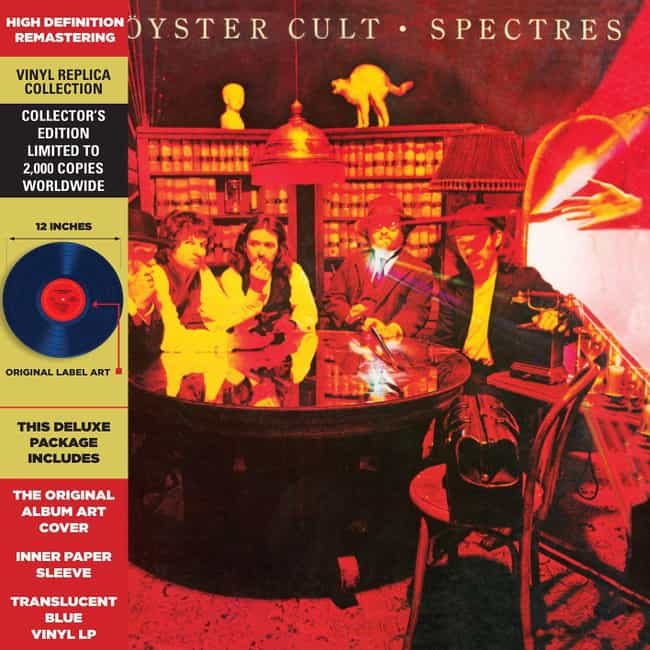 Spectres is listed (or ranked) 4 on the list The Best Blue Öyster Cult Albums, Ranked