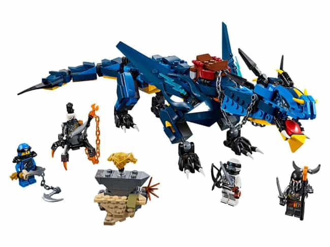 Stormbringer is listed (or ranked) 1 on the list The Best Ninjago LEGO Sets