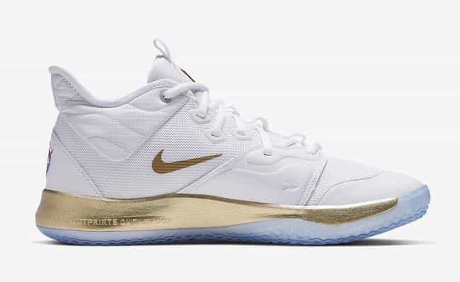 """Nike PG 3 NASA """"Apollo Missio... is listed (or ranked) 1 on the list The Best PG 3 Colorways, Ranked"""