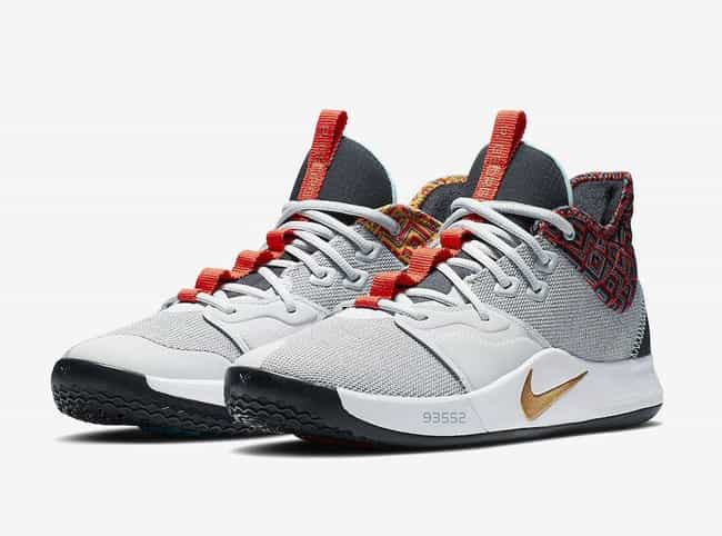 """Nike PG 3 """"BHM"""" is listed (or ranked) 4 on the list The Best PG 3 Colorways, Ranked"""