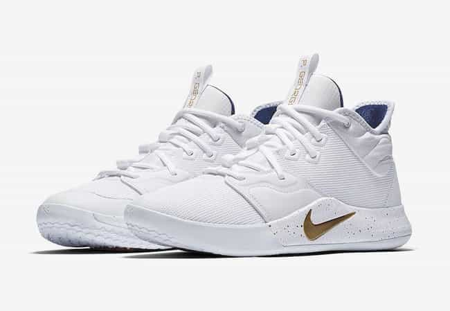 """Nike PG 3 """"USA"""" is listed (or ranked) 2 on the list The Best PG 3 Colorways, Ranked"""