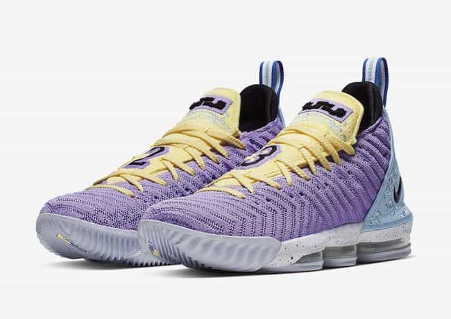 "Nike LeBron 16 ""Heritage"" is listed (or ranked) 2 on the list The Best LeBron 16 Colorways, Ranked"