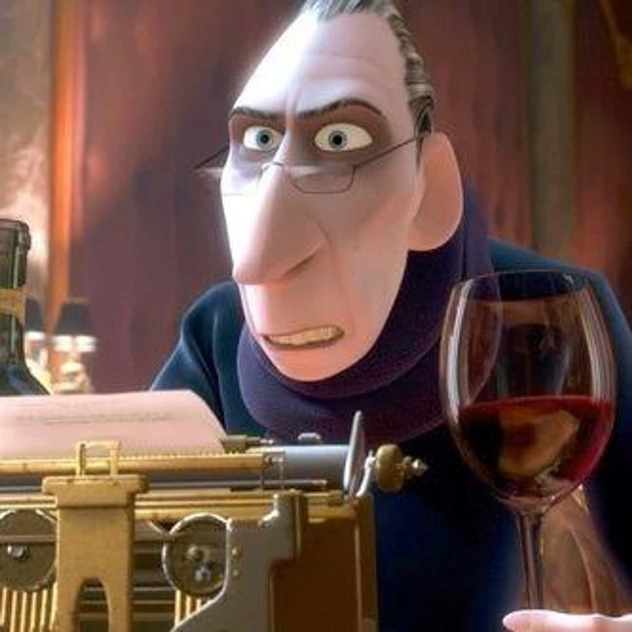 Be Back is listed (or ranked) 4 on the list The Best 'Ratatouille' Quotes