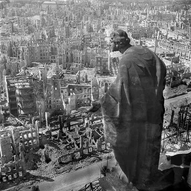 Many Bodies Were Cremate... is listed (or ranked) 2 on the list The Firebombing Of Dresden: The Brutal Allied Bombings Considered A War Crime Today