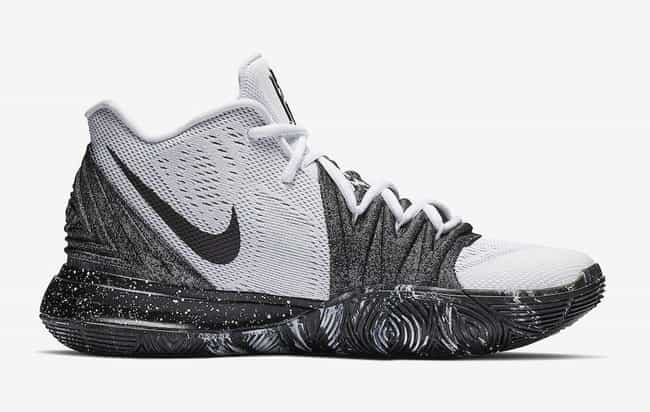 "Nike Kyrie 5 ""Oreo&... is listed (or ranked) 3 on the list The Best Kyrie 5 Colorways, Ranked"