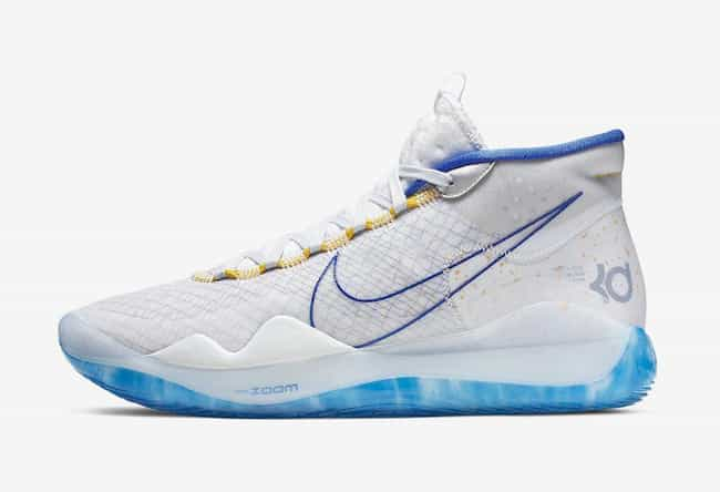 """Nike KD 12 """"Warrior... is listed (or ranked) 2 on the list The Best KD 12 Colorways, Ranked"""