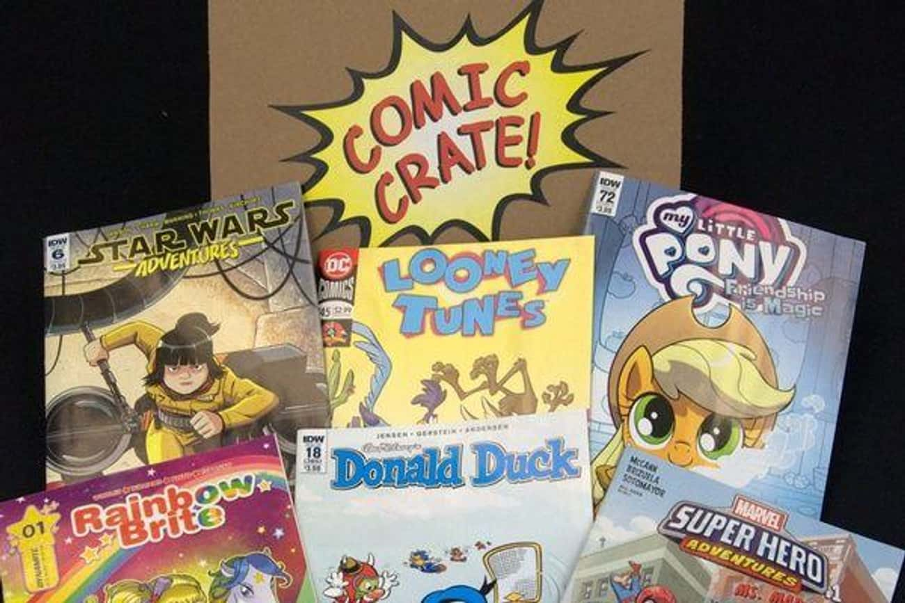 ComicCrate is listed (or ranked) 3 on the list The Best Subscription Boxes for Fathers
