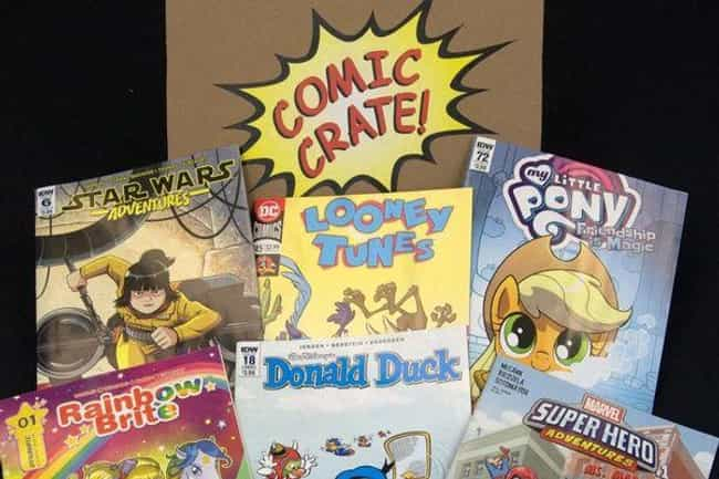 ComicCrate is listed (or ranked) 1 on the list The Best Subscription Boxes for Fathers