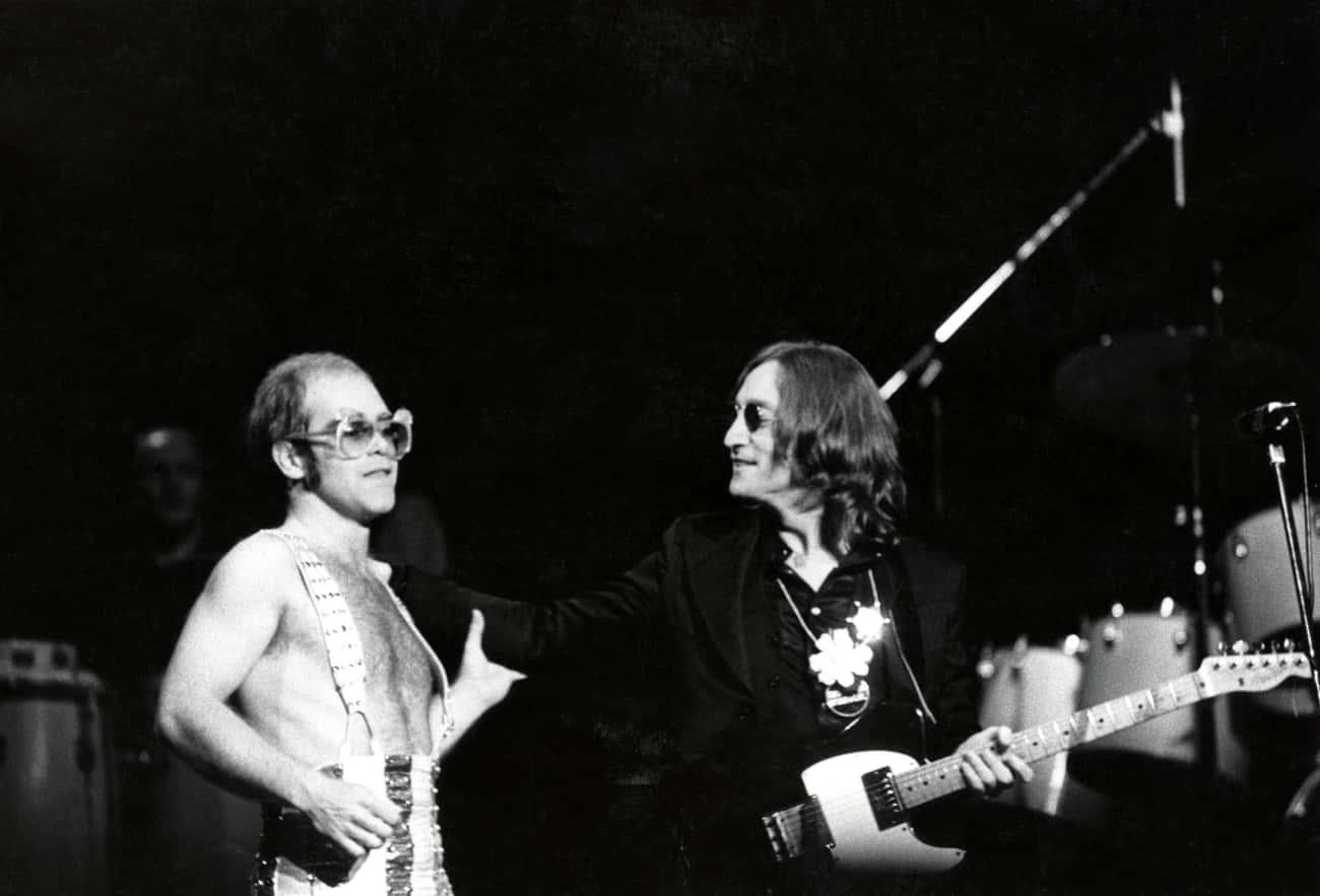 Elton John Didn't Name Himself After John Lennon