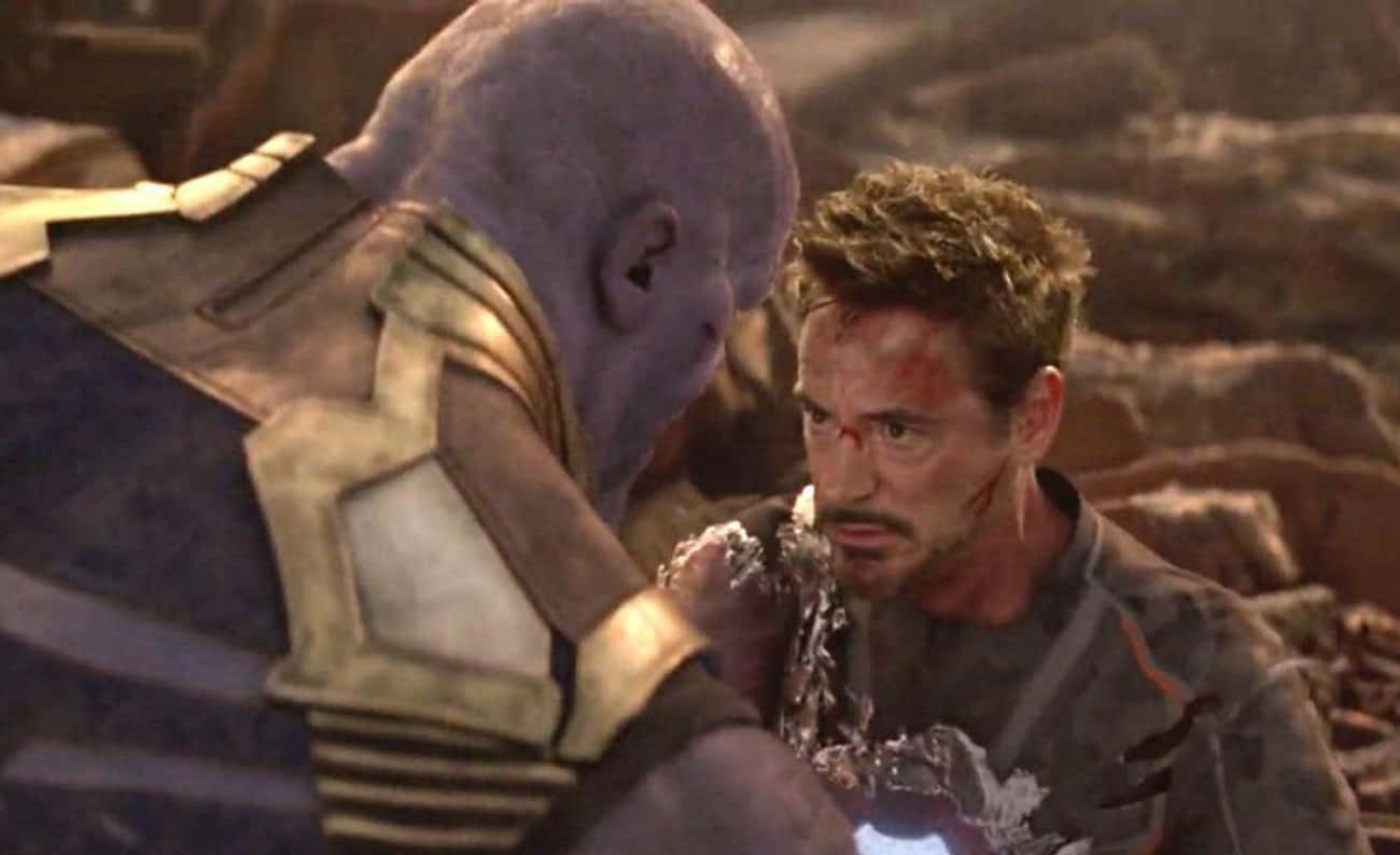 Tony Stark's Endgame is listed (or ranked) 1 on the list The Most Selfless Acts Of Heroism In The MCU, Ranked