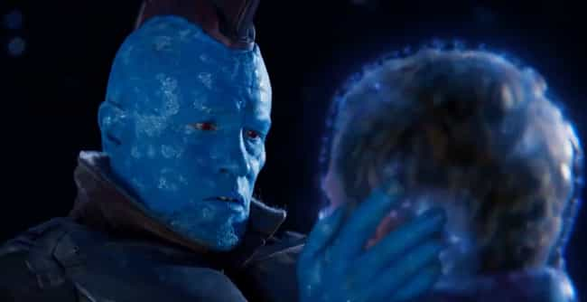 Yondu Wins Daddy Of The Year is listed (or ranked) 2 on the list The Most Selfless Acts Of Heroism In The MCU, Ranked