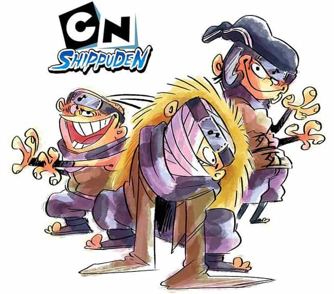 Ed Edd n Eddy As Team Dosu is listed (or ranked) 1 on the list This Artist Creates Cartoon Network x Naruto Shippuden Mashups And They're Absolutely Brilliant