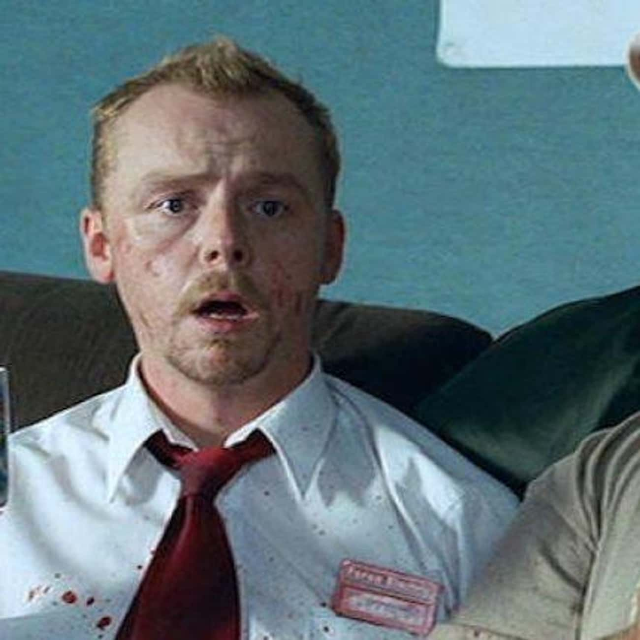Red On You is listed (or ranked) 2 on the list The Funniest Quotes From 'Shaun of the Dead'