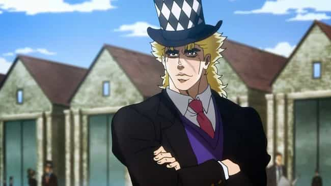 Robert E. O. Speedwagon is listed (or ranked) 4 on the list The 20 Best Characters In JoJo's Bizarre Adventure
