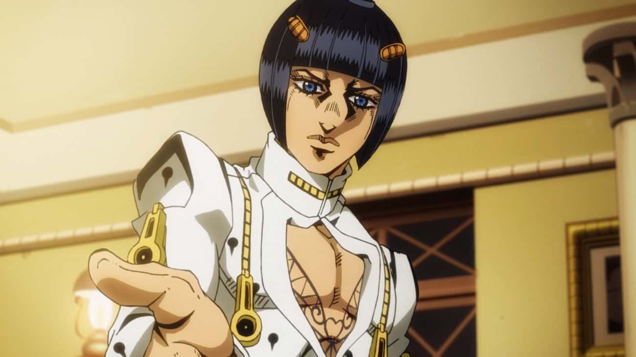 BrunoBucciarati is listed (or ranked) 3 on the list The 20 Best Characters In JoJo's Bizarre Adventure