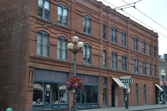 A Ghostly Woman Sobs In The Ca... is listed (or ranked) 3 on the list Creepy Haunted Hotels In Western Washington