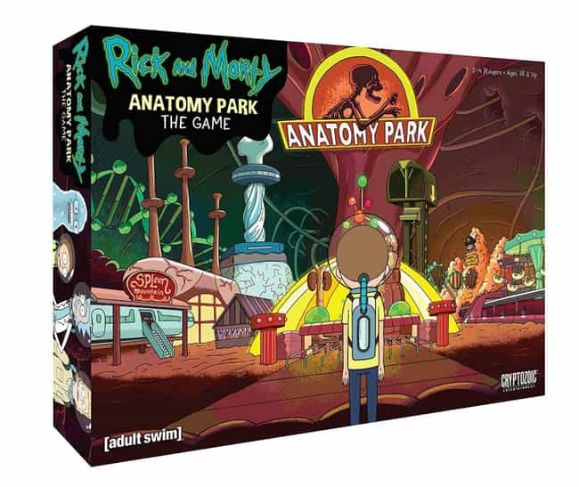Rick and Morty Anatomy Park Ga... is listed (or ranked) 1 on the list The Schwiftiest 'Rick and Morty' Board Games To Play Right Now