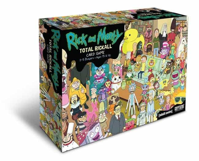 Rick and Morty Total Rickall C... is listed (or ranked) 2 on the list The Schwiftiest 'Rick and Morty' Board Games To Play Right Now