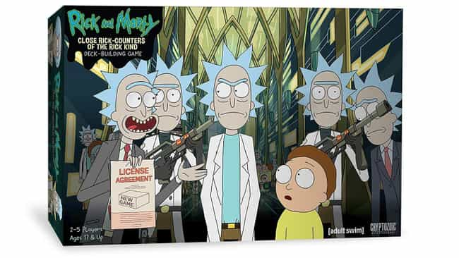Close Encounters of The Rick K... is listed (or ranked) 3 on the list The Schwiftiest 'Rick and Morty' Board Games To Play Right Now