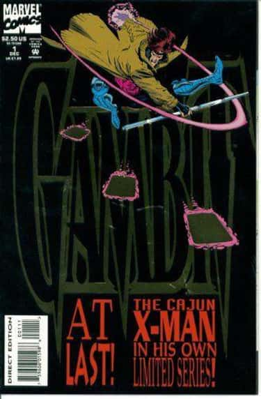 Tithing is listed (or ranked) 2 on the list The Best Gambit Storylines To Get To Know Remy LeBeau