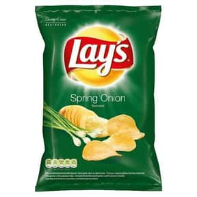 Lay's Spring Onion is listed (or ranked) 21 on the list The Best Lay's Chip Flavors
