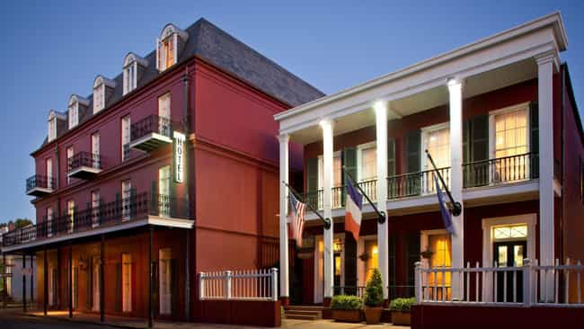 Slain Soldiers Haunt The Le Ri... is listed (or ranked) 3 on the list Creepy Haunted Hotels In New Orleans