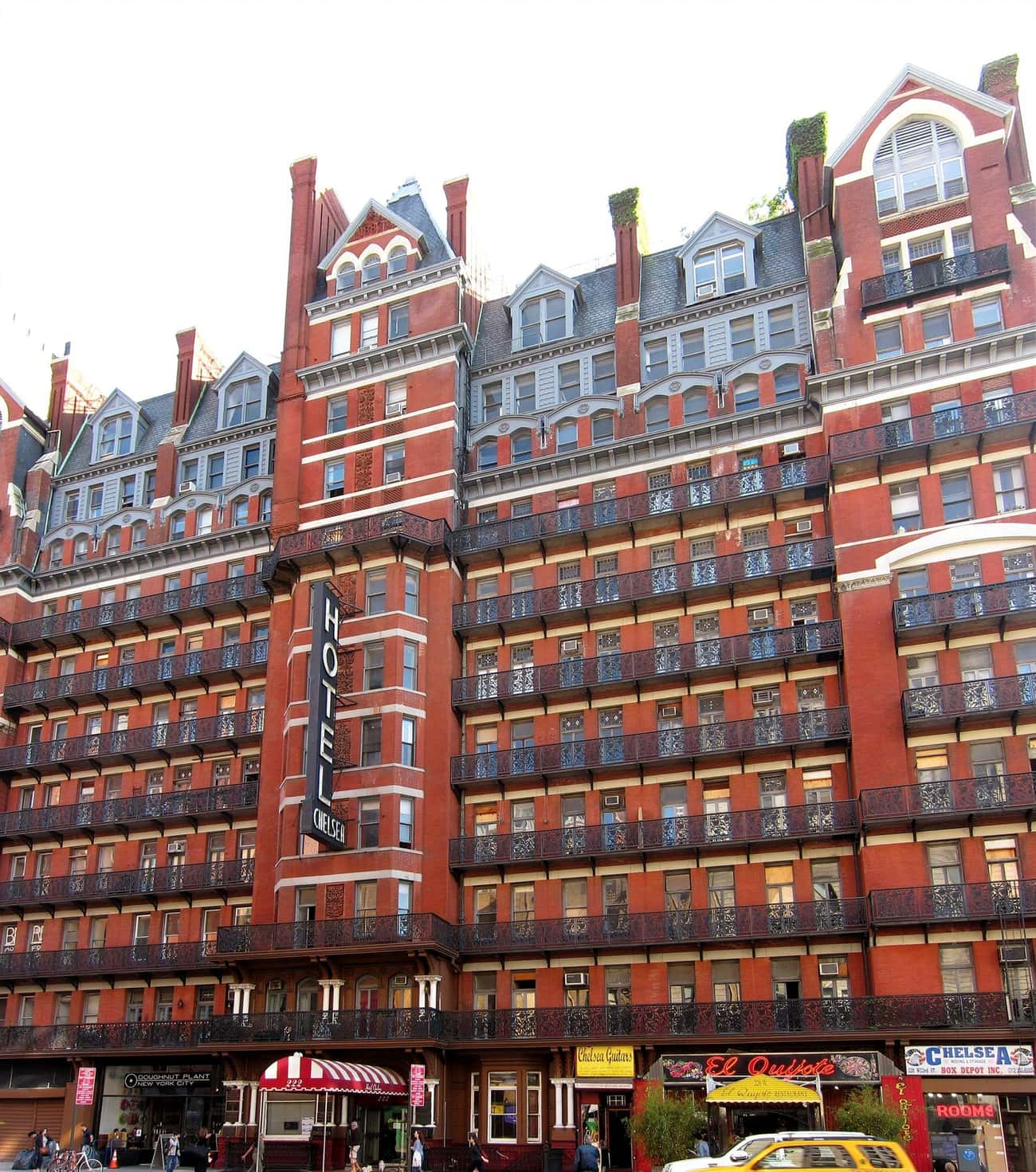 A Titanic Survivor Lingers At The Chelsea Hotel