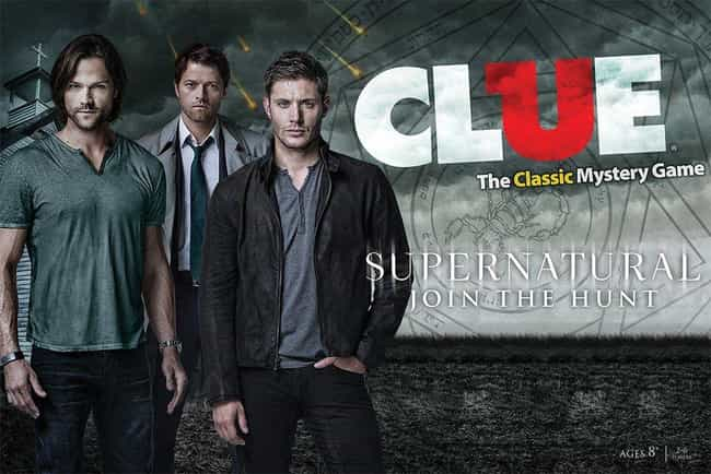Supernatural Collector's Editi... is listed (or ranked) 3 on the list The Best 'Supernatural' Board Games For Your Next Game Night