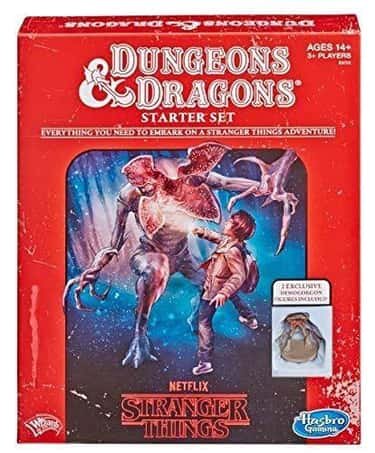 Stranger Things Dungeons & Dra is listed (or ranked) 1 on the list The Best 'Stranger Things' Board Games For '80s Fans