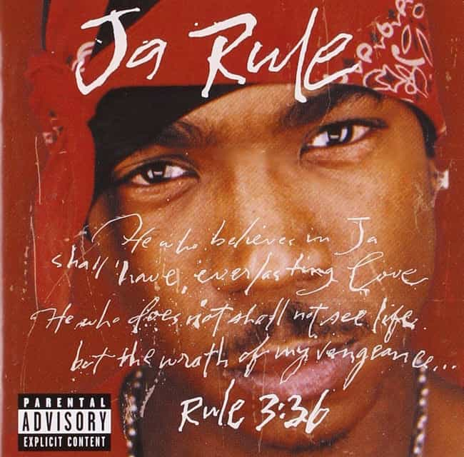 Rule 3:36 is listed (or ranked) 1 on the list The Best Ja Rule Albums, Ranked