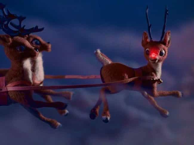 Rudolph The Red-Nosed Reindeer... is listed (or ranked) 2 on the list The Existentially Bleak Observations About 14 Classic Cartoons