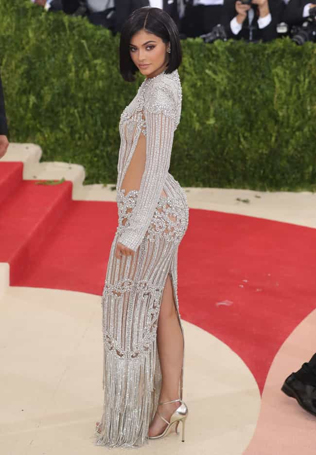 Kylie Jenner (2016) is listed (or ranked) 3 on the list All Kardashian & Jenner Met Gala Dresses, Ranked