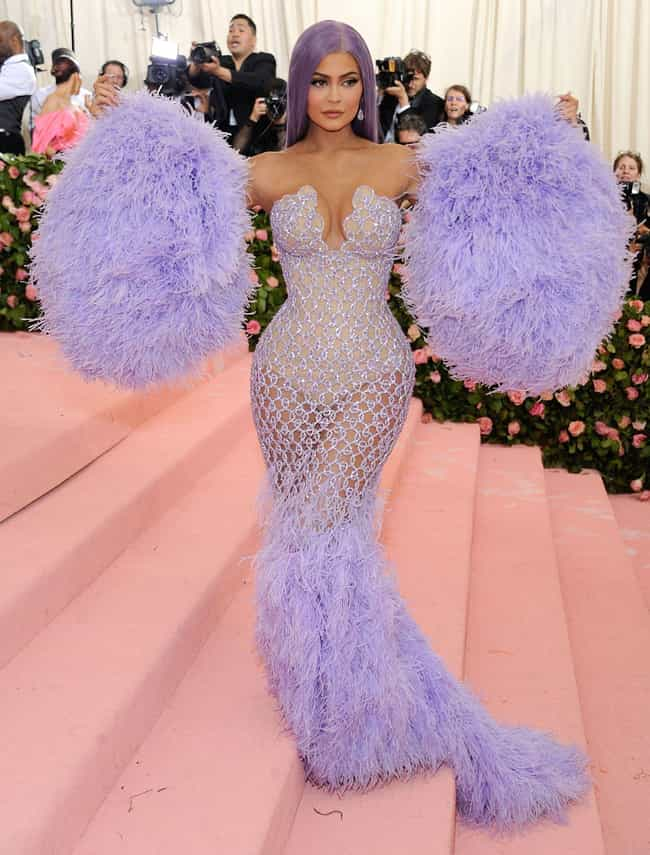 Kylie Jenner (2019) is listed (or ranked) 3 on the list All Kardashian & Jenner Met Gala Dresses, Ranked