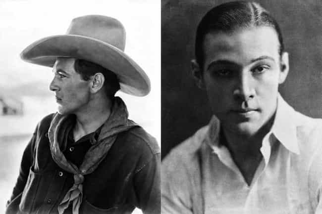 1920s: The Cinematic Brooder: ... is listed (or ranked) 3 on the list Here's What Bad Boys Looked Like From The Start Of The 20th Century