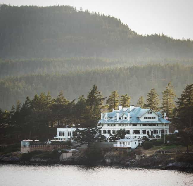 The Rosario Resort Is Plagued ... is listed (or ranked) 4 on the list Creepy Haunted Hotels In Western Washington