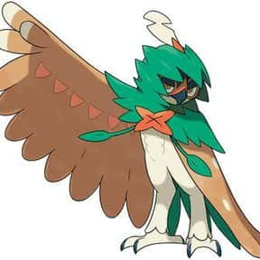 Decidueye is listed (or ranked) 22 on the list The Best Ghost Pokemon of All Time