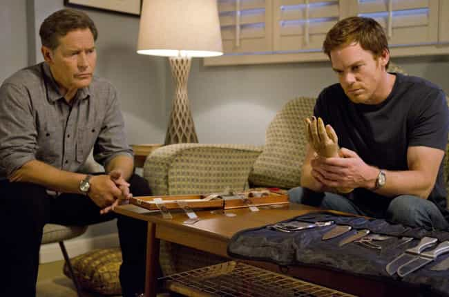 The Blades In Dexter's Kit Wer... is listed (or ranked) 4 on the list Behind The Scenes Of The 'Dexter' Murder Sequences
