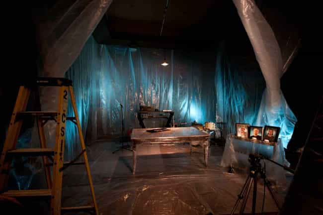 The Plastic-Wrapped Rooms Usua... is listed (or ranked) 5 on the list Behind The Scenes Of The 'Dexter' Murder Sequences