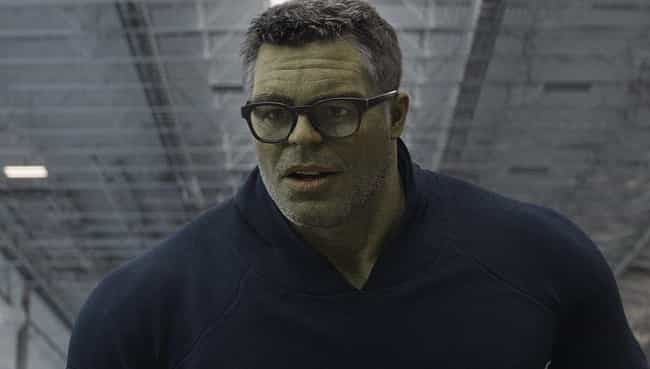 Hulk Holds The Entire Av... is listed (or ranked) 2 on the list The Most Impressive Feats Of Strength In The MCU, Ranked
