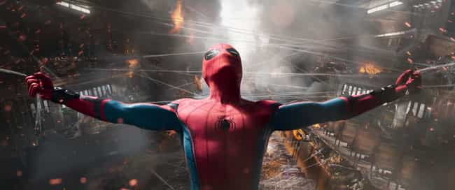 Spider-Man Holds The Staten Is... is listed (or ranked) 4 on the list The Most Impressive Feats Of Strength In The MCU, Ranked