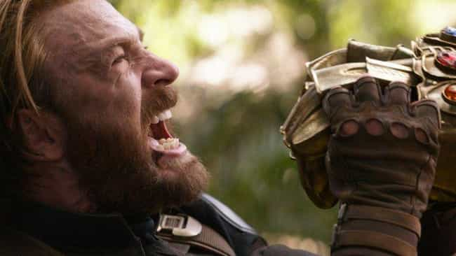 Captain America Holds Back The... is listed (or ranked) 4 on the list The Most Impressive Feats Of Strength In The MCU, Ranked