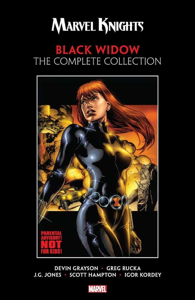 Marvel Knights is listed (or ranked) 4 on the list The Best Black Widow Storylines in Comics
